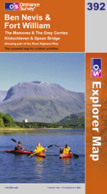Ben Nevis and Fort William, The Mamores and The Grey Corries (BOK)