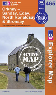Orkney - Sanday, Eday, North Ronaldsay and Stronsay (BOK)