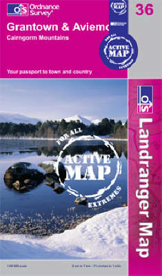 Grantown, Aviemore and Cairngorm Mountains (BOK)