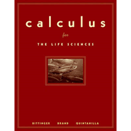 Calculus for the Life Sciences (BOK)
