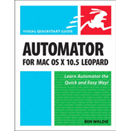 Automator for Mac OS X 10.5 Leopard (BOK)