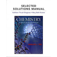 Selected Solutions Manual for Chemistry: A Molecular Approach (BOK)