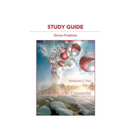 Study Guide for Introductory Chemistry (BOK)