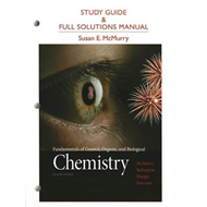 Study Guide and Full Solutions Manual for Fundamentals of General, Organic, and Biological Chemistry (BOK)