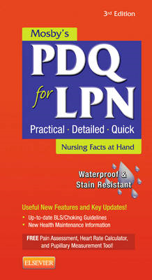 Mosby's PDQ for LPN (BOK)