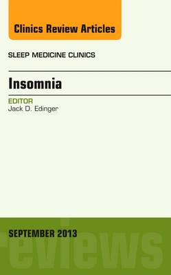 Insomnia, An Issue of Sleep Medicine Clinics (BOK)