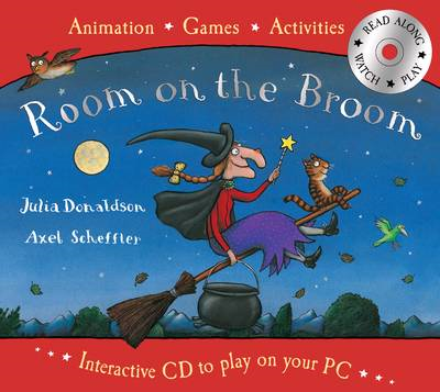 Room on the Broom Book and Interactive CD (BOK)