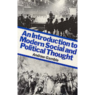 An Introduction to Modern Social and Political Thought (BOK)