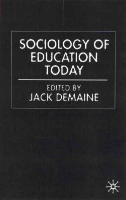 Sociology of Education Today (BOK)