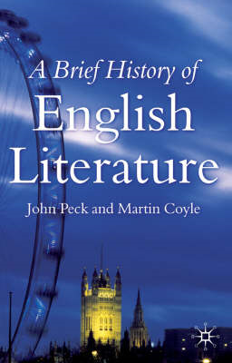 A Brief History of English Literature (BOK)