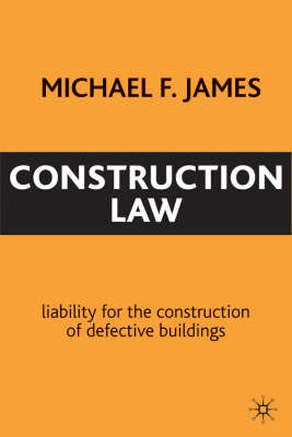 Construction Law: Liability for the Construction of Defective Buildings (BOK)