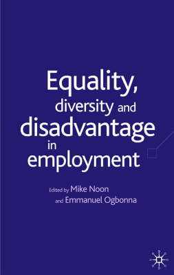 Equality, Diversity and Discrimination in Employment (BOK)
