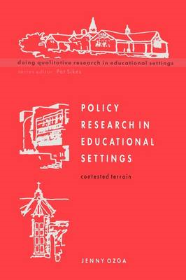 Policy Research in Educational Settings (BOK)