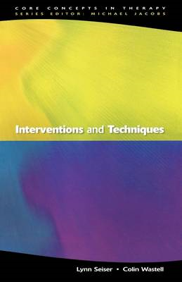 Interventions and Techniques (BOK)