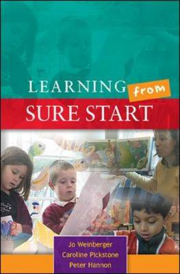 Learning from Sure Start: Working with Young Children and Their Families (BOK)
