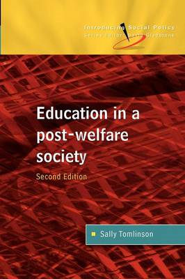 Education in a Post Welfare Society (BOK)