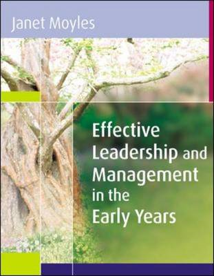 Effective Leadership and Management in the Early Years (BOK)