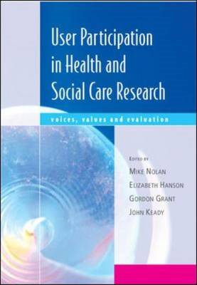 User Participation in Health and Social Care Research (BOK)