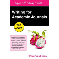 Writing for Academic Journals (BOK)