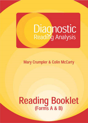 Diagnostic Reading Analysis (DRA) Reading Booklet (BOK)