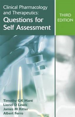 Clinical Pharmacology and Therapeutics: Questions for Self Assessment (BOK)