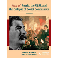Years of Russia, the USSR and the Collapse of Soviet Communi (BOK)