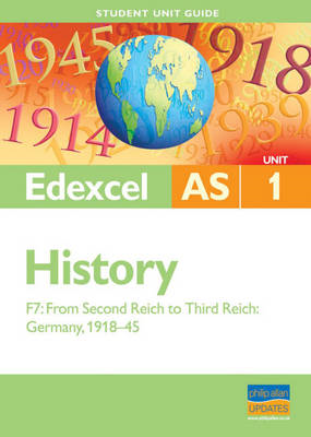 Edexcel AS History Unit 1 Student Unit Guide: from Second Re (BOK)