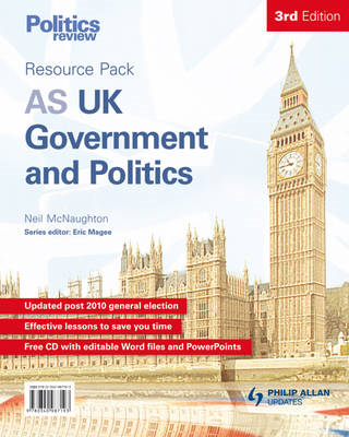 AS UK Government and Politics Teacher Resource Pack (BOK)