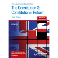 Constitution and Constitutional Reform Advanced Topic Master (BOK)