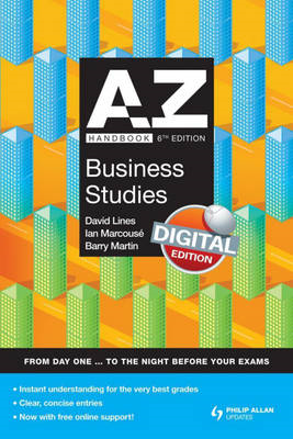 A-Z Business Studies Handbook (BOK)