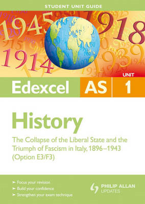 Edexcel AS History Student Unit Guide: Unit 1 the Collapse o (BOK)