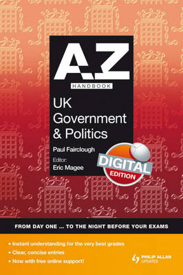 A-Z UK Government and Politics Handbook + Online (BOK)