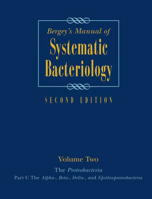 Bergey's Manual (R) of Systematic Bacteriology (BOK)