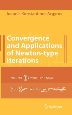 Convergence and Applications of Newton-type Iterations (BOK)