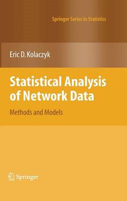 Statistical Analysis of Network Data (BOK)