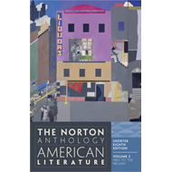 The Norton Anthology of American Literature: Shorter: v. 2 (BOK)