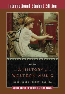 History of Western Music (BOK)