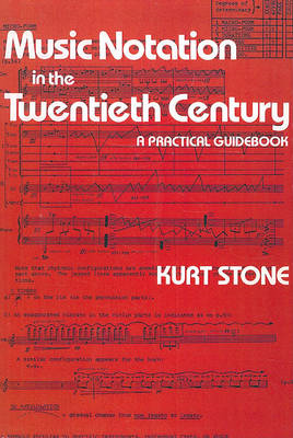 Music Notation in the Twentieth Century (BOK)