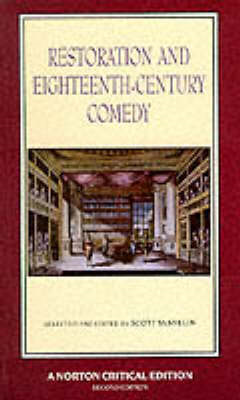 Restoration and Eighteenth-century Comedy (BOK)