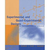 Experimental and Quasi-Experimental Designs for Generalized (BOK)