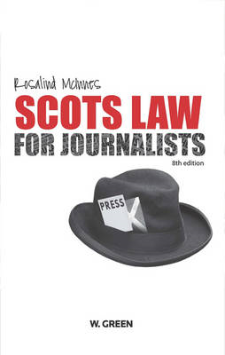 Scots Law for Journalists (BOK)