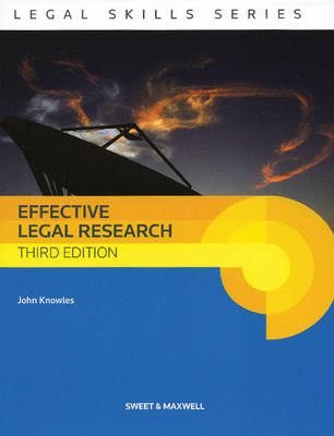 Effective Legal Research (BOK)