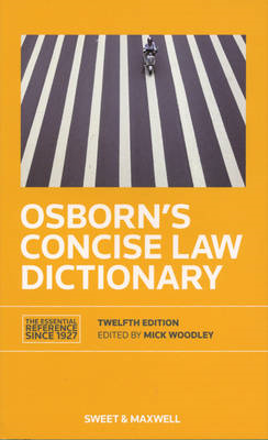 Osborn's Concise Law Dictionary (BOK)