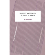 Quantity and Quality in Social Research (BOK)