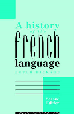 A History of the French Language (BOK)