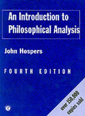 Introduction to Philosophical Analysis (BOK)