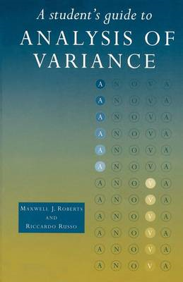 A Student's Guide to Analysis of Variance (BOK)