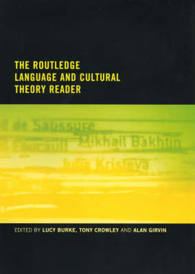 Language and Cultural Theory Reader (BOK)