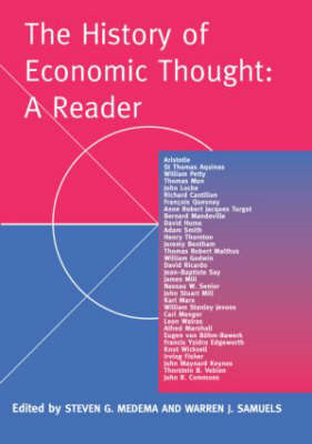 History of Economic Thought: A Reader (BOK)