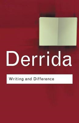 Writing and Difference (BOK)